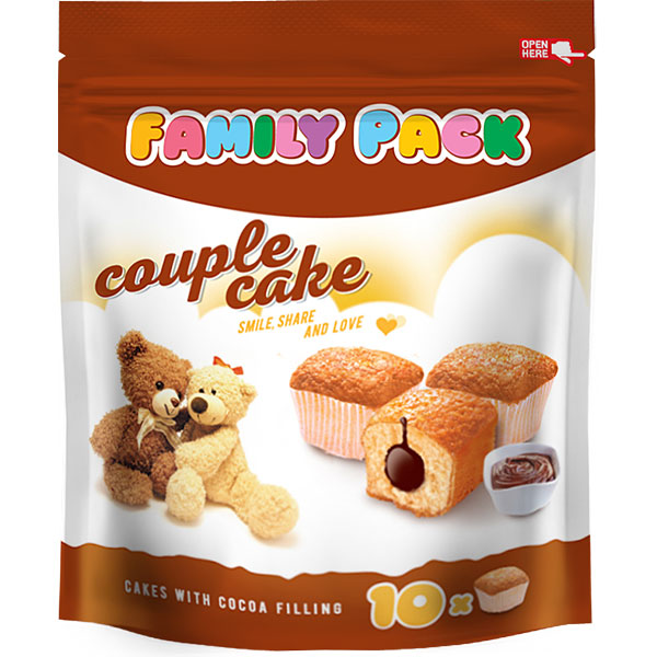 Couple Cake Family Pack